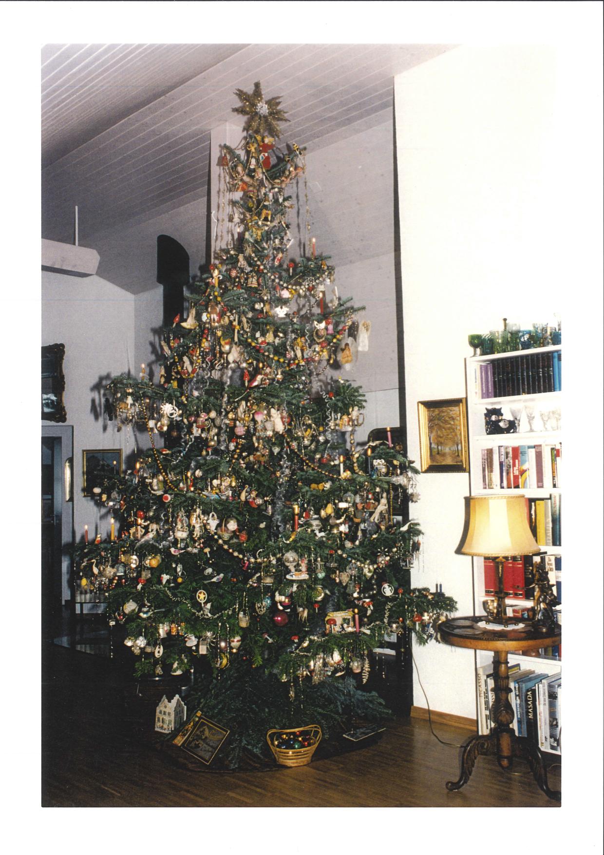 Weihnachtsbaum Engelshaar.Engelshaar Christbaum Sammlung Hanne Pohl